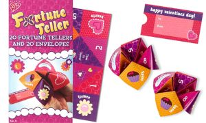 Fortune Teller Valentine Exchange Cards 20ct