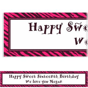 Custom Oh So Fabulous Birthday Banner 6ft