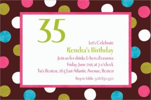 Custom Chocolate & Dots Polka Dot Invitations
