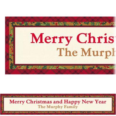 Winter Warmth Custom Christmas Banner