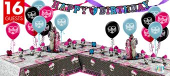Monster High Deluxe Party Kit for 16 Guests