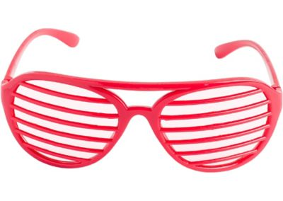 Red Slotted Shades