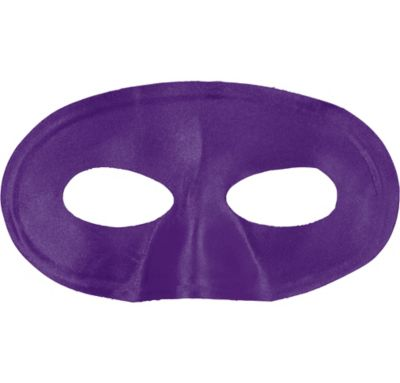 Purple Fabric Eye Mask