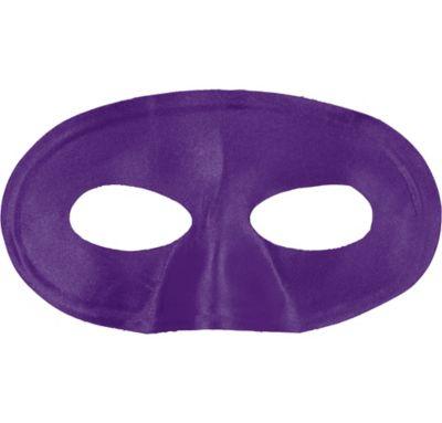 Purple Fabric Eye Mask