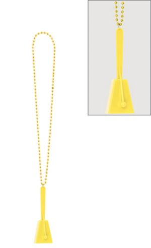 Yellow Clacker Necklace