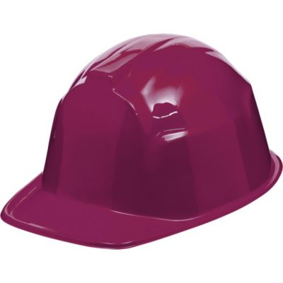 Burgundy Construction Hat