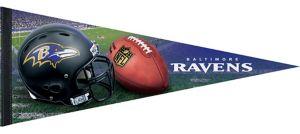Premium Baltimore Ravens Pennant Flag
