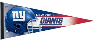 Premium New York Giants Pennant Flag
