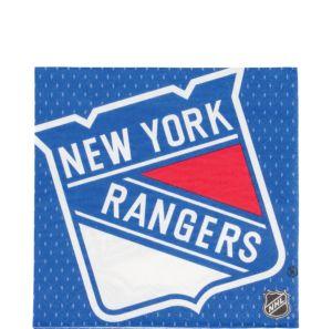 New York Rangers Lunch Napkins 16ct