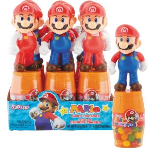 Super Mario Candy Containers 12ct