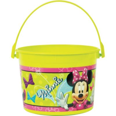 Minnie Mouse Favor Container 4in
