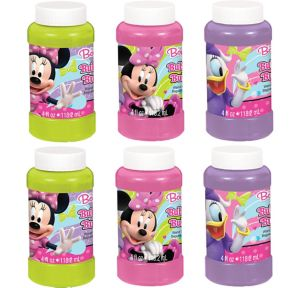 Minnie Mouse Bubbles 6ct