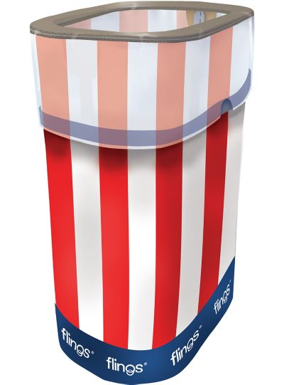 Patriotic Flings® Pop-Up Trash Bin