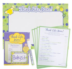 Think Like Mom Baby Shower Game