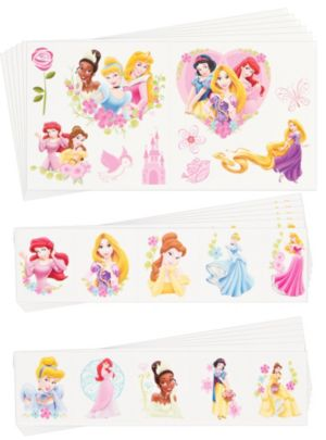 Disney Princess Tattoos Value Pack 72ct