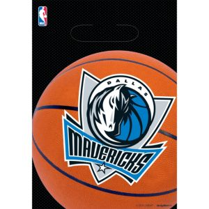 Dallas Mavericks Favor Bags 8ct