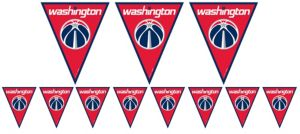 Washington Wizards Pennant Banner