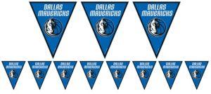 Dallas Mavericks Pennant Banner