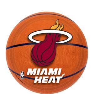 Miami Heat Dessert Plates 8ct