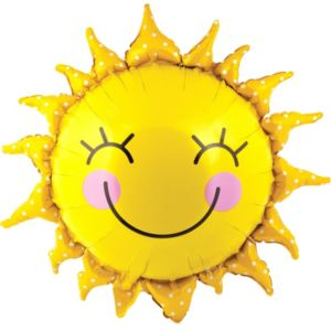 Smiling Sun Balloon