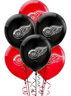 Detroit Red Wings Balloons 6ct