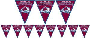 Colorado Avalanche Pennant Banner