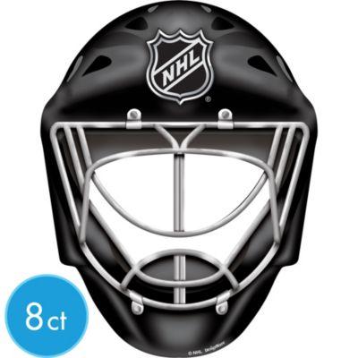 Paper Hockey Helmets 8ct