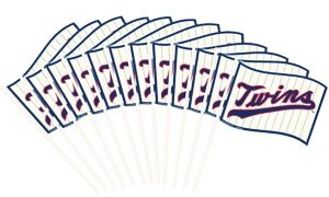 Minnesota Twins Flags 12ct