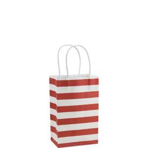 Red Stripe Mini Gift Bag