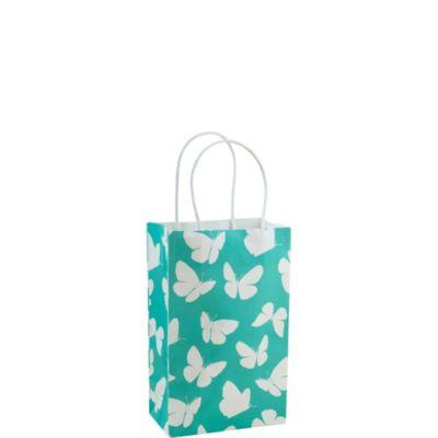 Robin's Egg Butterfly Mini Gift Bag