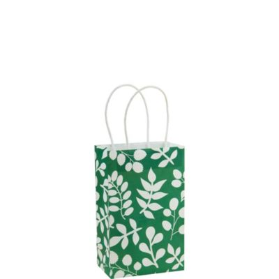Green Leaf Mini Gift Bag