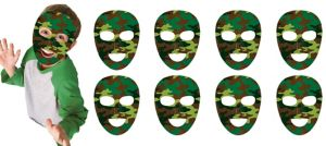 Camouflage Masks 8ct