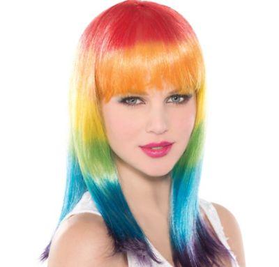 Spectrum Rainbow Wig