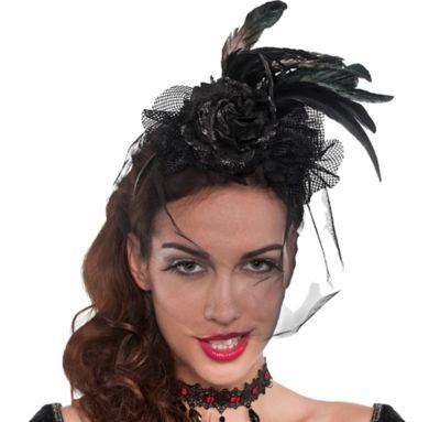 Black Gothic Fascinator