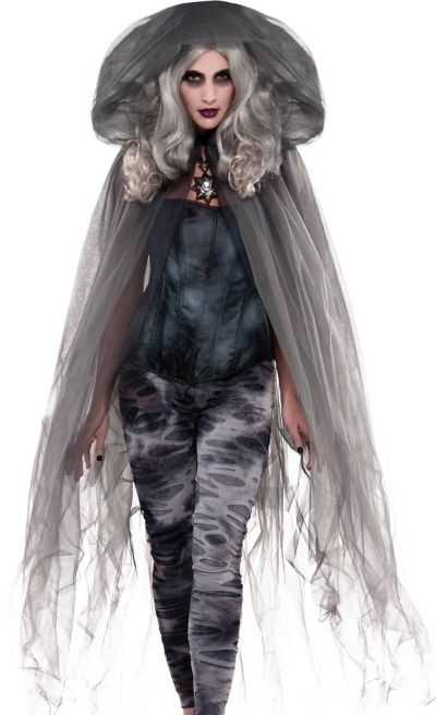 Adult Ghost Stories Sheer Cape