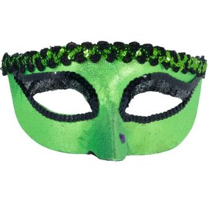 Green Witch Masquerade Mask
