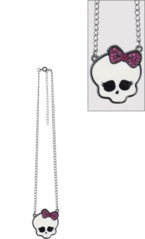 Monster High Skullette Pendant Necklace