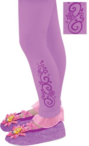 Child Footless Rapunzel Tights