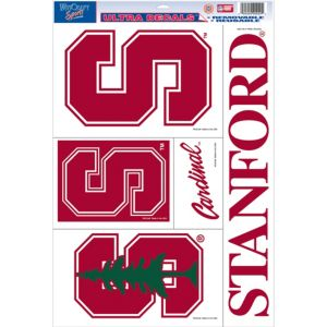 Stanford Cardinal Decals 5ct