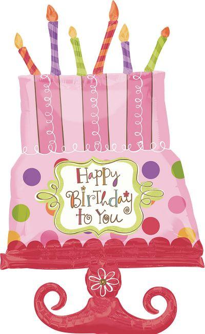 Happy Birthday Balloon - Giant Sweet Stuff