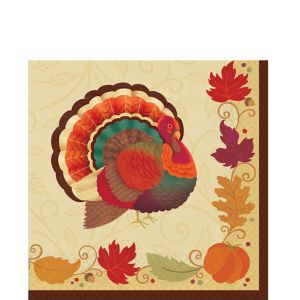 Thanksgiving Holiday Lunch Napkins 36ct