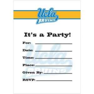 UCLA Bruins Invitations 8ct