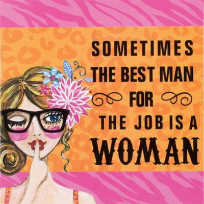 Woman for the Job Magnet