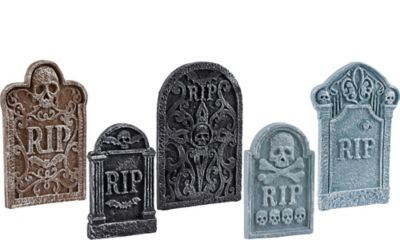 Tombstone Decoration Set 5ct