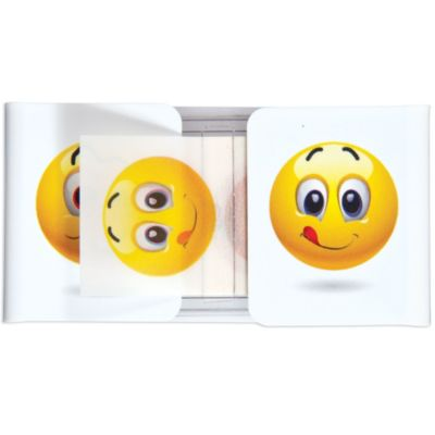 Smiley Face Flag Page Markers 72pc