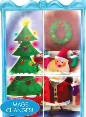Lenticular Santa Cutout