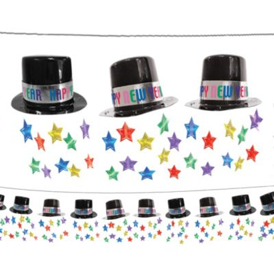 Colorful Top Hat Garland