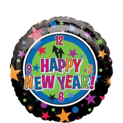 Foil Countdown New Years Balloon