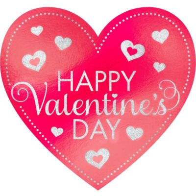 Glitter Valentine's Day Heart Cutout