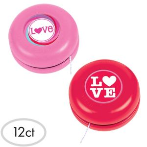 Valentine's Day Yo-Yos 12ct
